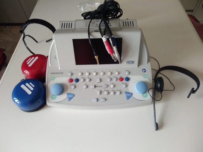 Audiometro Resonance R37A (2017),Resonance