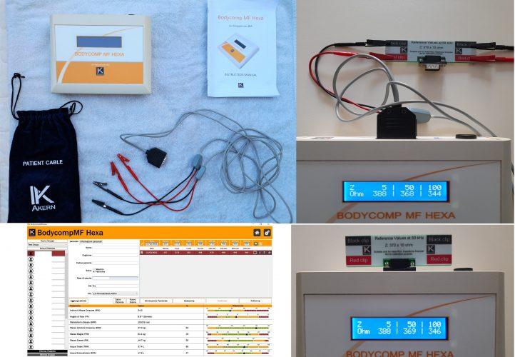 Bioimpedenziometro AKERN Bodycomp MF HEXA